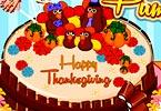 play Thanksgiving Pumpkin Cake