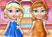 Ellie And Anna Doll House game