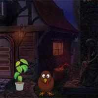 play Thanksgiving Cemetery House Escape