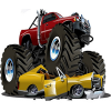 Crushing Time Monster Truck game