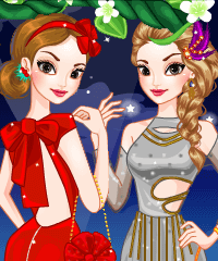 play Fairytale Cut-Out Gown Dress Up Game