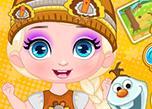 Baby Elsa'S Thanksgiving game