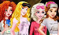 Princesses Movie Night game