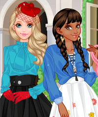 play Modern Or Classical Dress Up Game