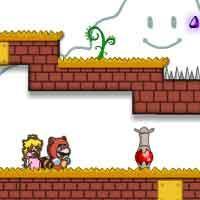 Mario And Princess Escape game