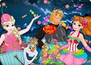 Frozen Sweettooth Halloween game