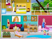 Princess Modern Doll House game