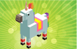 Unicorn 2048 game