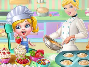play Cindy Cooking Cupcakes