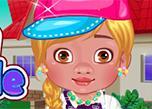 Baby Moana School Style game