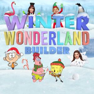 Nickelodeon: Winter Wonderland Builder Funny game