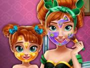 Ice Princess Mommy Real Makeover game
