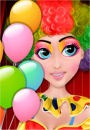 Birthday Clown Makeover game