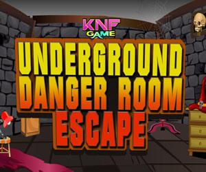 Underground Danger Room Escape game