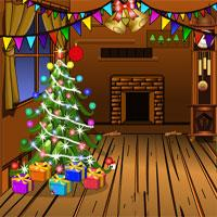 play Winter Wooden House Escape