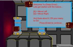 Deep Diver Demo game