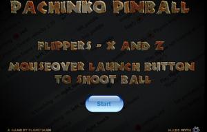 Pachinko Pinball game