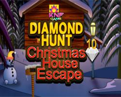 Diamond Hunt 10 Christmas House Escape game