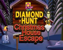 Diamond Hunt 10 Christmas House Escape game