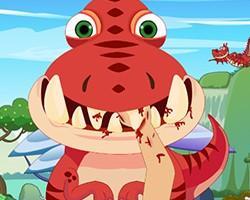 Dinosaur Dentist game