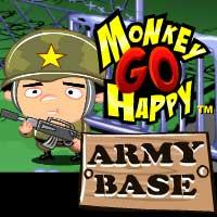 Monkey Go Happy: Army Base game