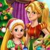 Rapunzel Mommy Christmas Tree game