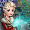 Frozen Xmas House Makeover game