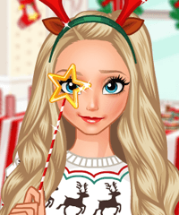Elsa Christmas Costumes Dress Up game