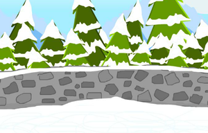 Toon Escape Ice Rink game