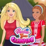play Barbie Goes Glamping
