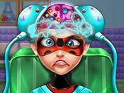 Ladybug Brain Doctor game
