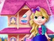 Princess Doll House Decoration game