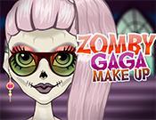 play Zomby Gaga Make Up