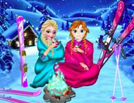 Frozen Sisters Winter Holiday game