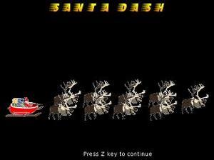 Santa Dash game