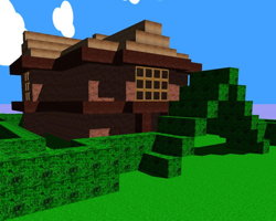 Minecraft Style Builder game