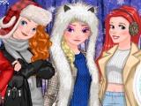 Princess Winter Photoshoot game