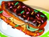play Spumoni Ice Cream Eclairs