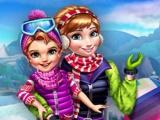Winter Games Dressup game