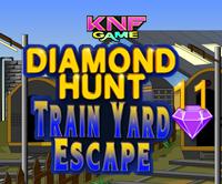 play Diamond Hunt 11 - Train Yard Escape