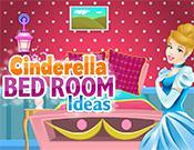 play Cinderella Bed Room Ideas