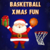 Basketball Xmas Fun game