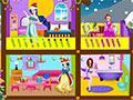Princess Christmas Doll House game