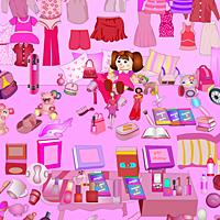 play Pink-Living-Room-Objects