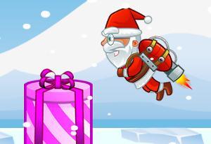 Play Jetpack Santa Game