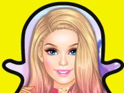 play Barbie Snapchat Fun