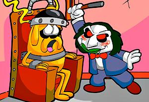 play Adventure Time: Saw Game