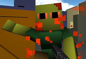 play Minecraft: Zumbi Blocks 3D
