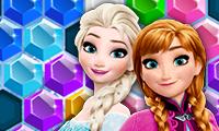 Frozen Elsa: Hex Puzzle game