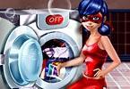 Ladybug Washing Costumes game